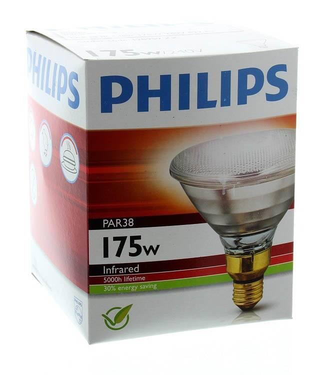 Warmtelamp Wit 175W Energiezuinig