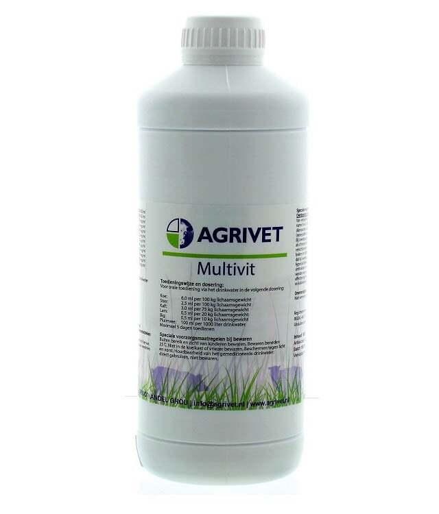 Multivit Oraal Agrivet 1L