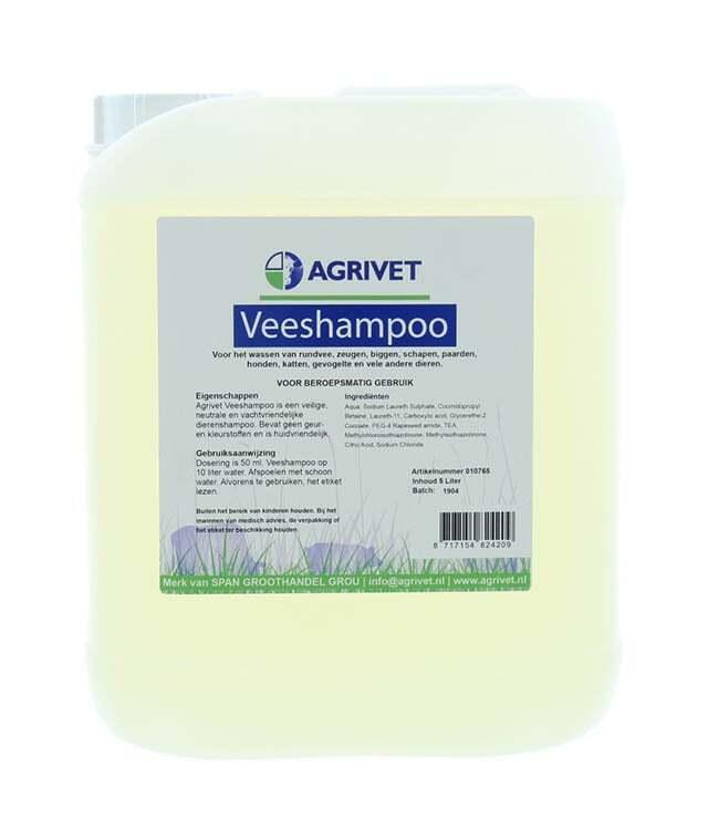 Veeshampoo Agrivet 5000ML