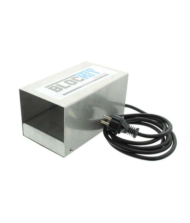 Verwarmingsbox Klauwlijm RVS Enkel