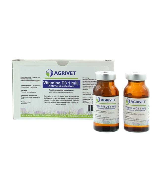Anti Melkziekte Stoot VIT-D3 10ML 12ST
